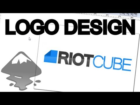 inkscape - Quick and easy tutorial on how to design a logo in Inkscape. Send all custom logo inquiries to design@shmoggo.com http://www.shmoggo.com/blog http://www.shmo...