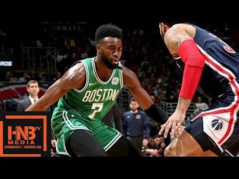 Boston Celtics vs Washington Wizards Full Game Highlights / April 10 / 2017-18 NBA Season