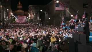 First Lady Michelle Obama speech at the President's Final Rally in Iowa