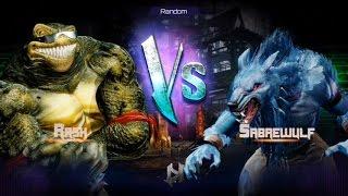 Killer Instinct - Fight 17 - Rash(Holder) vs Sabrewulf(Challenger)