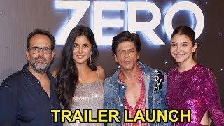 Video ZERO Official Trailer Launch FULL Video HD I Shahrukh Khan, Katrina Kaif, Anushka Sharma MP3, 3GP, MP4, WEBM, AVI, FLV November 2018