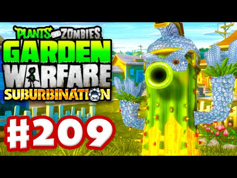 Plants vs. Zombies: Garden Warfare – Gameplay Walkthrough Part 209 – Cactus Bling! (PC)