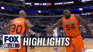3 Headed Monsters vs 3's Company | BIG3 HIGHLIGHTS by FOX Sports