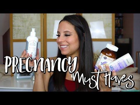 3RD TRIMESTER PREGNANCY FAVORITES | EARTH MAMA, GARDEN OF LIFE, & MORE