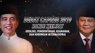 Video [FULL] Debat Capres 2019  Ronde ke-4: Jokowi vs Prabowo MP3, 3GP, MP4, WEBM, AVI, FLV Juli 2019