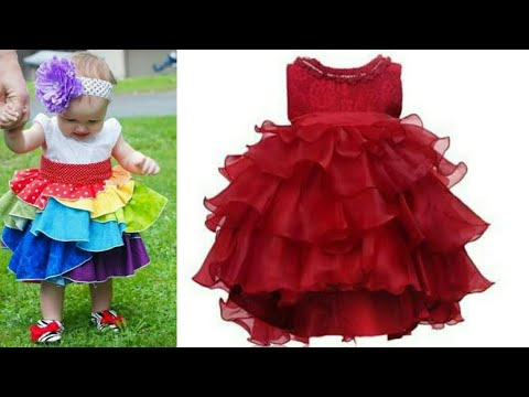 Video Designer party wear frill frock for baby girls cutting and stitching download in MP3, 3GP, MP4, WEBM, AVI, FLV January 2017