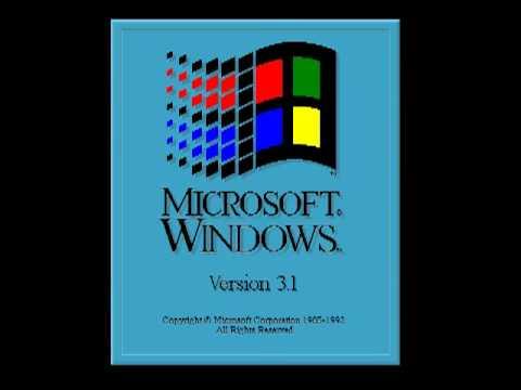 Hidden Windows 3.1 startup sound!