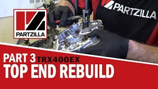 7. 400EX Top End Rebuild Part 3: Rebuild & Installation | Partzilla.com