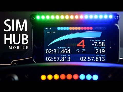 SIM HUB MOBILE DISPLAY | HOW TO SETUP