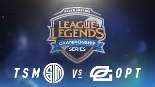 Video TSM vs. OPT - Week 2 Day 1 | NA LCS Spring Split | TSM vs. OpTic Gaming (2018) MP3, 3GP, MP4, WEBM, AVI, FLV Agustus 2018