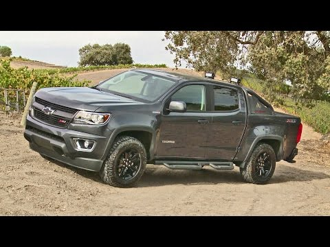 2016 Chevrolet Colorado Trail Boss - Footage