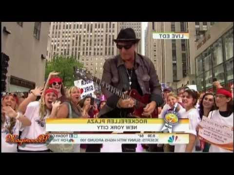 Video [HD] Journey / arnel Pineda @ NBC Today Show
