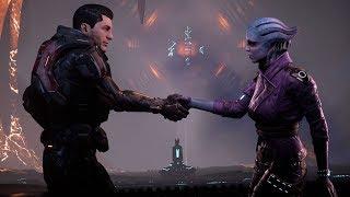 Mass Effect: Andromeda. Shooting Kalinda