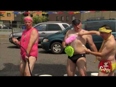Sexy Bikini Car Wash Prank