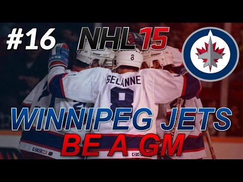 "NHL 15: Legend GM Mode: Winnipeg Jets #16 "" Round 2 Vs The Wild"""