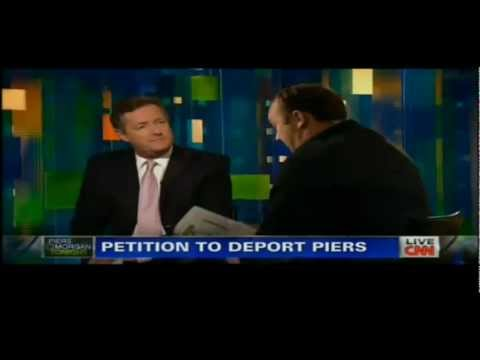 Alex Jones vs Piers Morgan on CNN (FULL ORIGINAL)