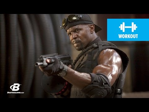 crews - BAM! Wanna get huge? Receive the gift of knowledge from Terry Crews, and learn what he did to get ready for his part as Hale Caesar in the action-film The Ex...
