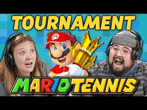 REACTOR WAR! | Mario Tennis Aces Tournament (React: Gaming)