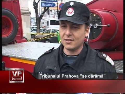 """Tribunalul Prahova """"se dărâmă"""""""