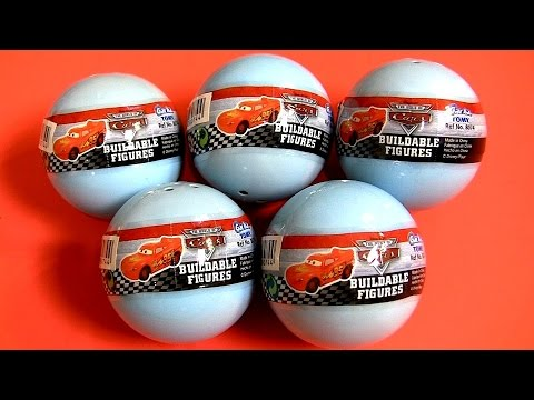 Tomy Cars Gasha Balls Buildable Toys Disney Pixar – Juguete de Coches para Ninos McQueen