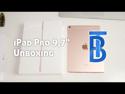 Unboxing: Apple iPad Pro 9,7