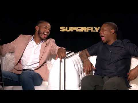 Trevor Jackson and Jason Mitchell Interview for Superfly