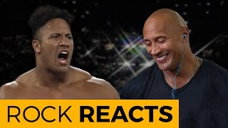 Nonton The Rock Reacts To His First Wwe Match  20 Years Of The Rock Film Subtitle Indonesia Streaming Movie Download
