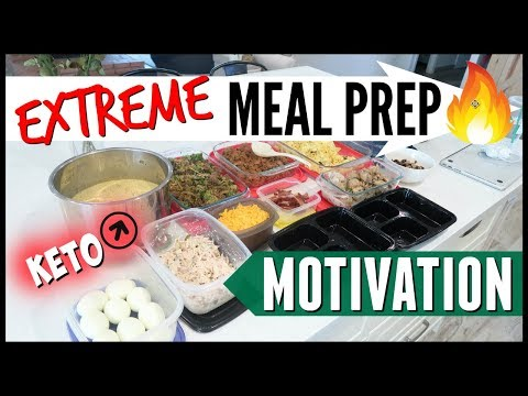Atkins diet - KETO MEAL PREP FOR THE WEEK  MEAL PREP MOTIVATION  EASY WEEKLY FAMILY MEAL PREP  COOK WITH ME