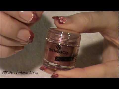 nail art - french con pigmento