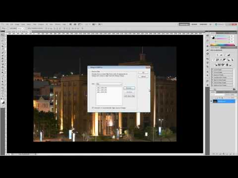 Photoshop Tutorial – HDR Pro and Photomerge in CS5