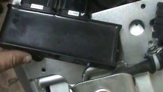 6. Sustituir cerebro moto eléctrica ZERO 2011 S. Replace MBB (Main Bike Board)