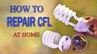 "In this video we show step by step detail to repair a CFL Bulb and is a great demonstration experiment.We will learn how to open and replace the CFL Bulb in a very simple and easy wayat the minimal expenses. I hope you can easily repair this Lamp at home without any problems after watching this video.In my channel ""science & technology experiments"" where you will learn how to make hand made crafts, presents, toys etc. The main thing is that one can make it at home and with one's own hands.You are interested in handiwork, craft or you just have nothing to do, you have found the channel you really need. Here you can find lots of crafts, hand made items, and the main thing is that they all made of make-shifts and at the lowest cost!Video Title: CFL Bulb Repair - How to Repair CFL Bulb at Home - DIY Dead CFL Lamp / Light Repair - NEW & SIMPLEVideo Link: https://youtu.be/D03PerJz5_0For more creative project ideas follow my  YouTube channelLINK: https://www.youtube.com/channel/UCVrNsmJyqX_lpG5QBJqDrLgFacebook:Link: https://www.facebook.com/scientificthemes/?ref=bookmarksAlways happy to hear from you! Your comments, shares and all other interactions are most welcome. Hope you enjoy the video.Please LIKE and SUBSCRIBE. Thank you for Watching."