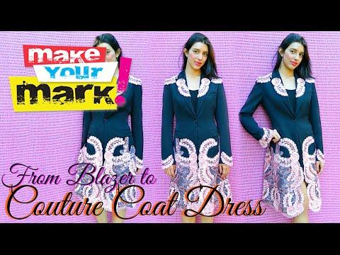 Blazer to Couture Coat Dress