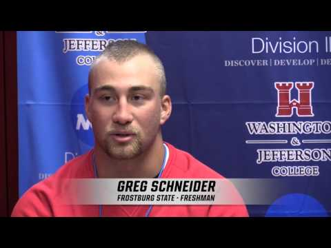 Frostburg State Post-Game Press Conference - May 13, 2015