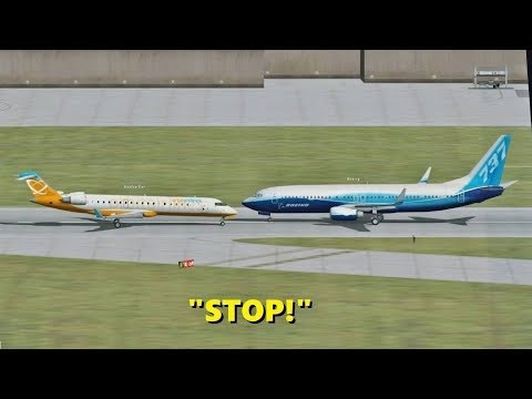 Ridiculous Pilot Behavior In Flight Simulator X (multiplayer Atc)