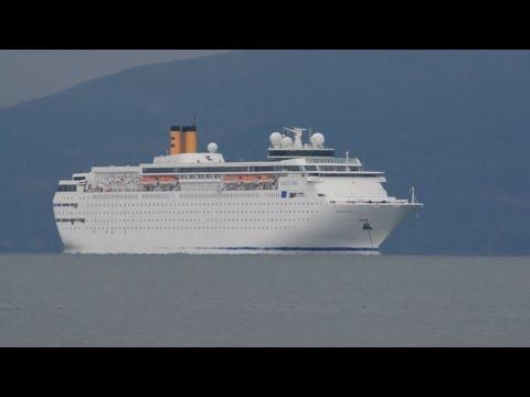 1.213 τουρίστες  στο Ναυπλίου με το κρουαζιερόπλοιο Costa Neoclassica