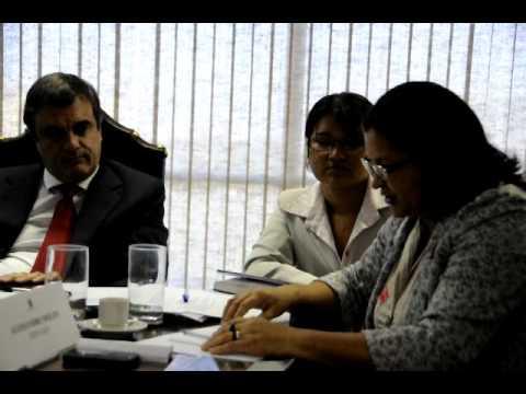 Encontro do Ministro da Justiça Eduardo Cardoso com Maria Joel de Rondon do Pará, PA.AVI