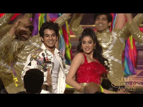 LuxGoldenRoseAwards 2018: Janhvi Kapoor and Ishaan Khatter performance