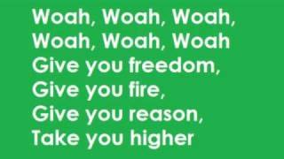 K'naan- Wavin' Flag Lyrics