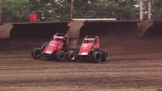USAC non-winged Sprint Cars at Knoxville!