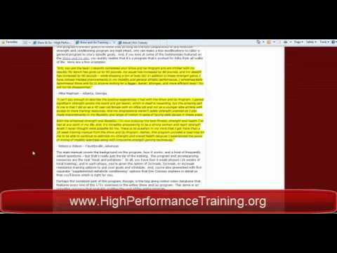 Show and Go Training by Eric Cressey - Review by High Performance Training