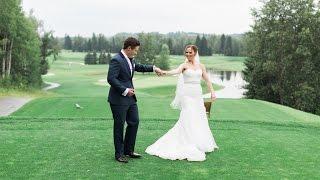 Calgary Wedding Photographer: Glencoe Golf & Country Club - Allie & Sean Video Clip