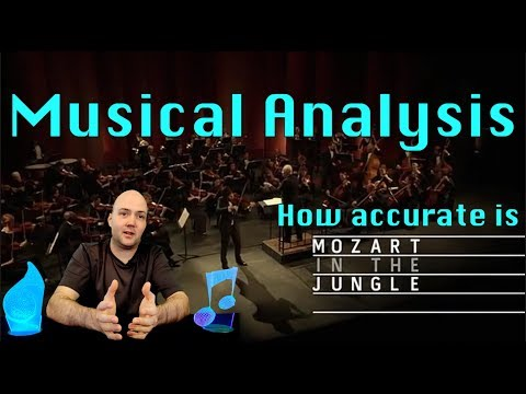 Music Analysis - Mozart in the Jungle