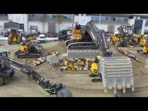 Volvo Construction Equipment Display Bauma 2016 - Part 3 - Messe München
