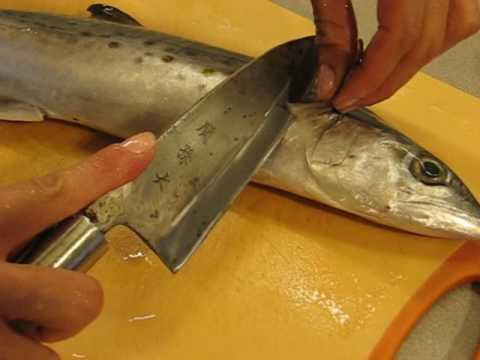 fish - Super easy and fast way to filet a fish. Misa will reveal a secret Japanese technique to season, cure and grill Spanish Mackerel, too. Filet a whole fish and...