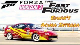 Nonton Forza Horizon 3 Fast & Furious Edwin's Acura Integra Film Subtitle Indonesia Streaming Movie Download