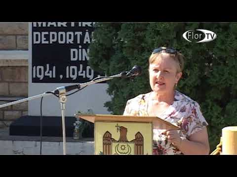 Miting de comemorare a victimelor deportărilor în or.Florești