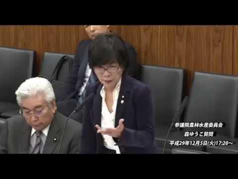 参議院農林水産委員会_森ゆうこ質問【動画】