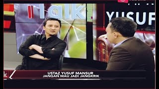 Video Pilihan Yusuf Mansur Diantara 'Cebong' dan 'Kampret' Part 03 - iTalk 09/09 MP3, 3GP, MP4, WEBM, AVI, FLV Februari 2019