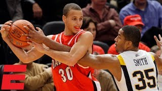 Steph Curry catches fire in 2008 Jimmy V Classic   NCAA Basketball Highlights
